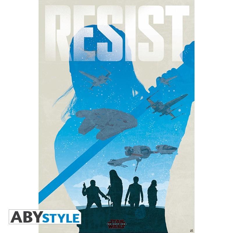 "Star Wars - Poster - ""Resist"" - roulé..."
