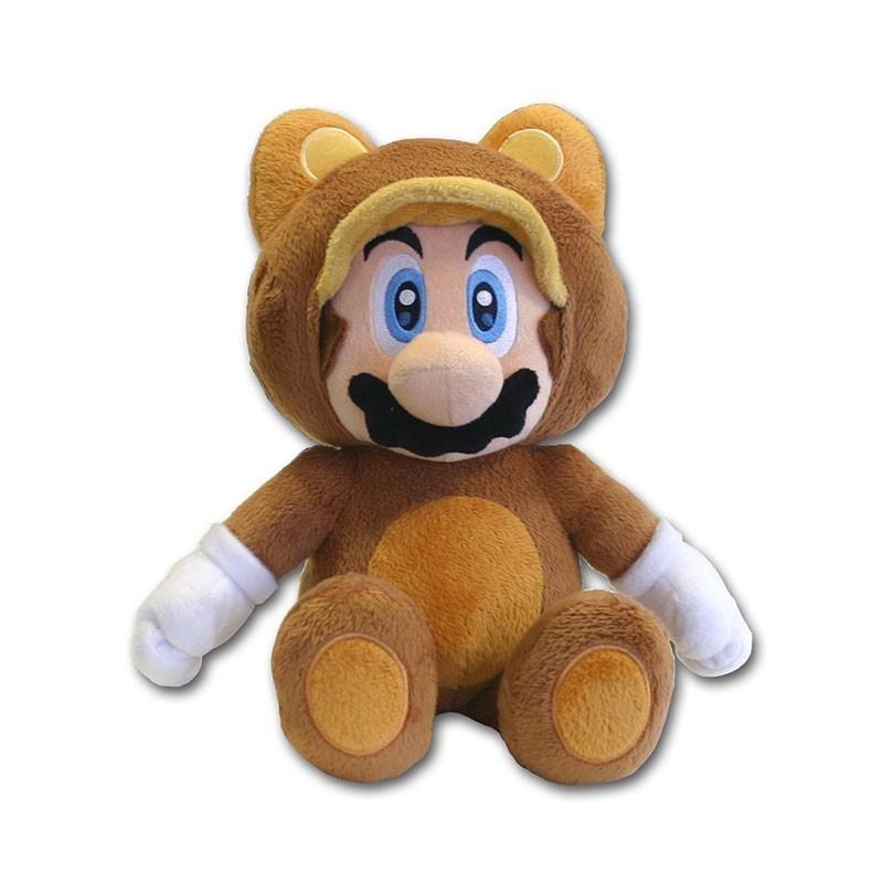 Mario - Peluche Super Mario Tanuki...