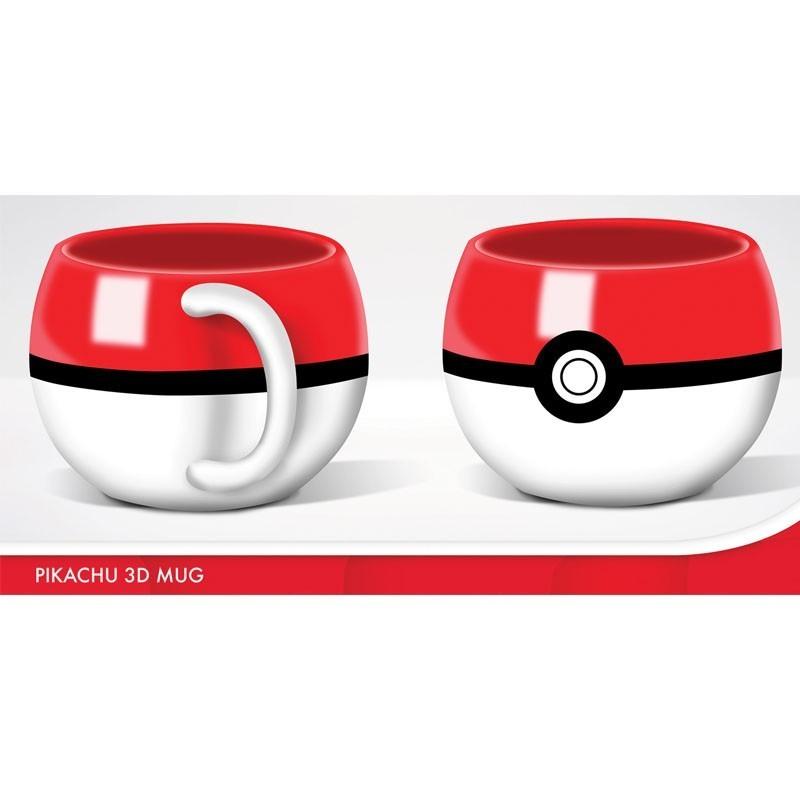 Pokémon - Mug 3D Pokéball