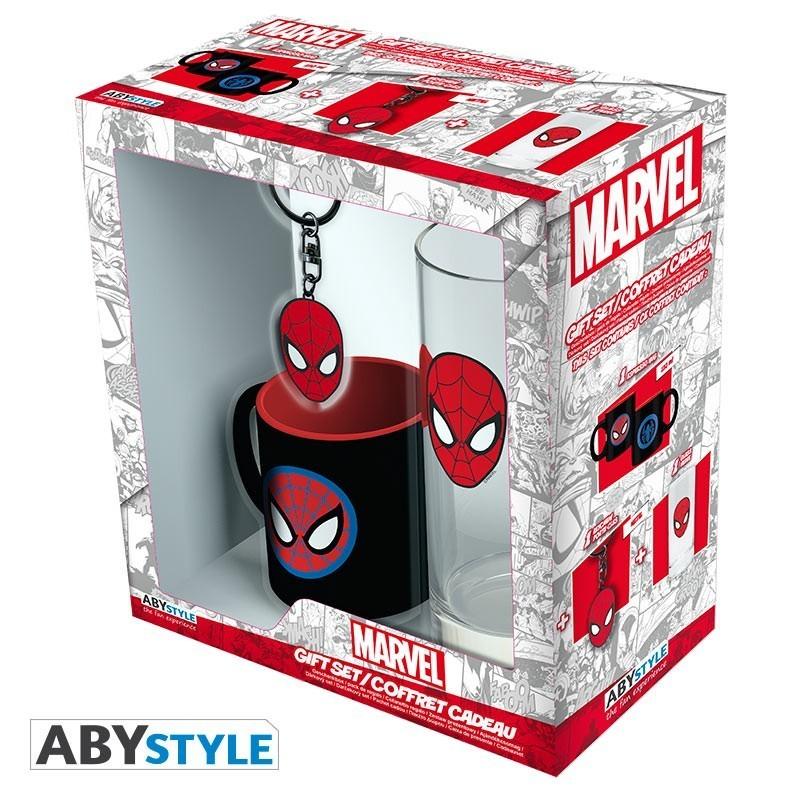 Marvel - Pack Verre 29cl + Porte clé...