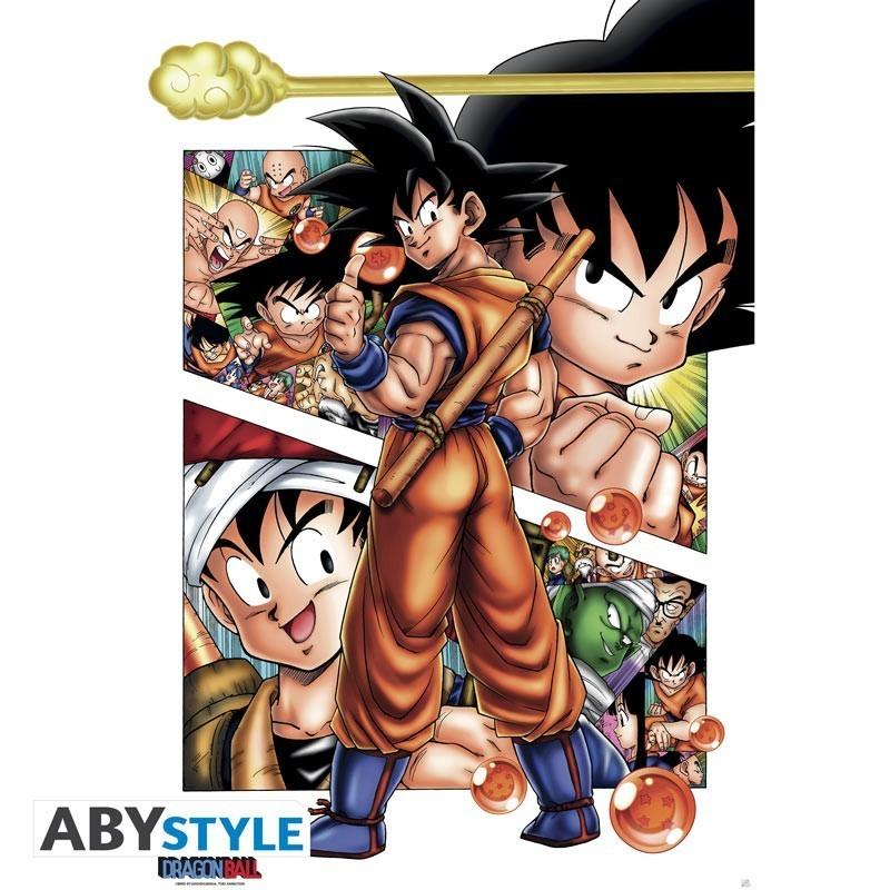 """Dragon Ball - Poster """"DB/ Son Goku..."""