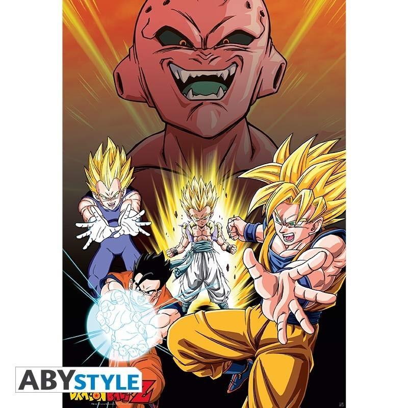 """Dragon Ball - Poster """"DBZ/ Buu Vs..."""