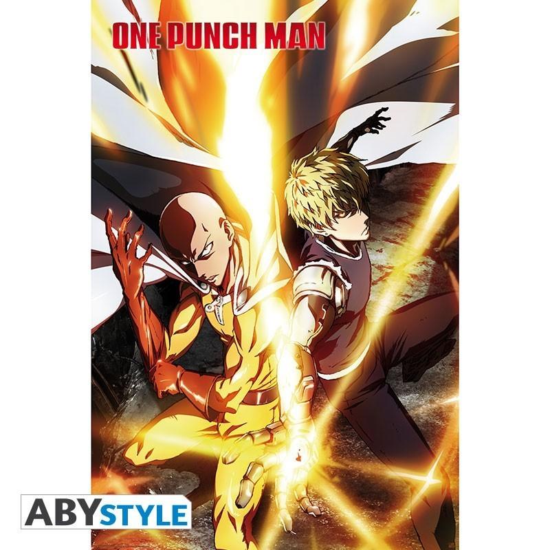"""One Punch Man- """"Saitama & Genos"""" -..."""
