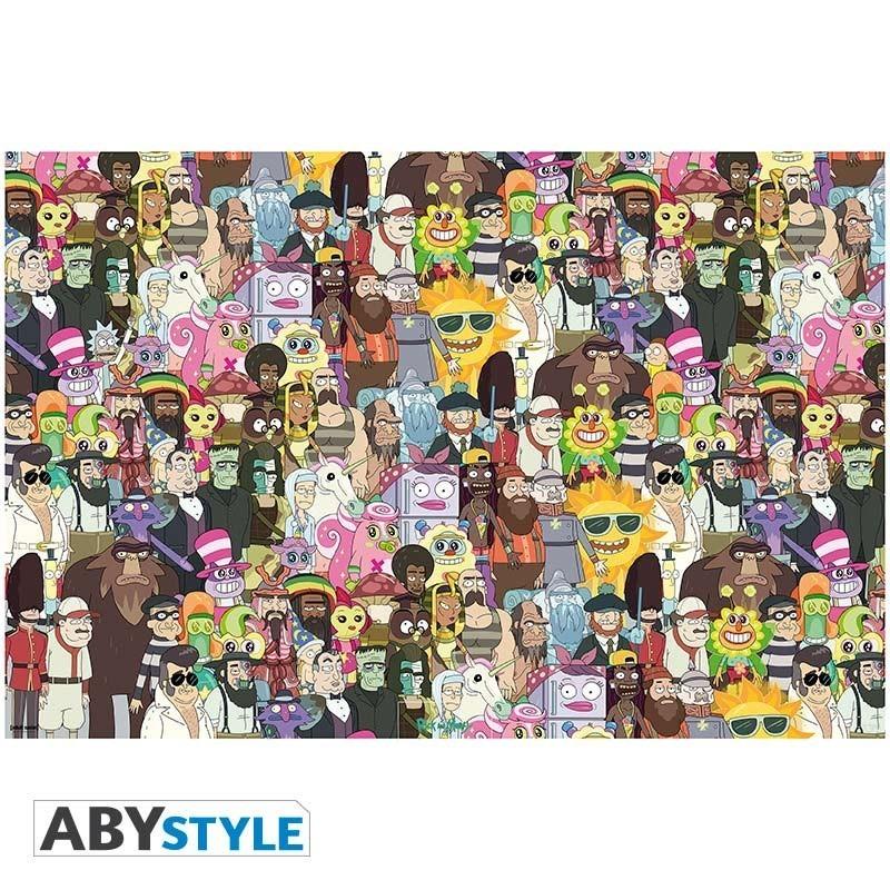 Rick & Morty - Poster «Où sont Rick &...
