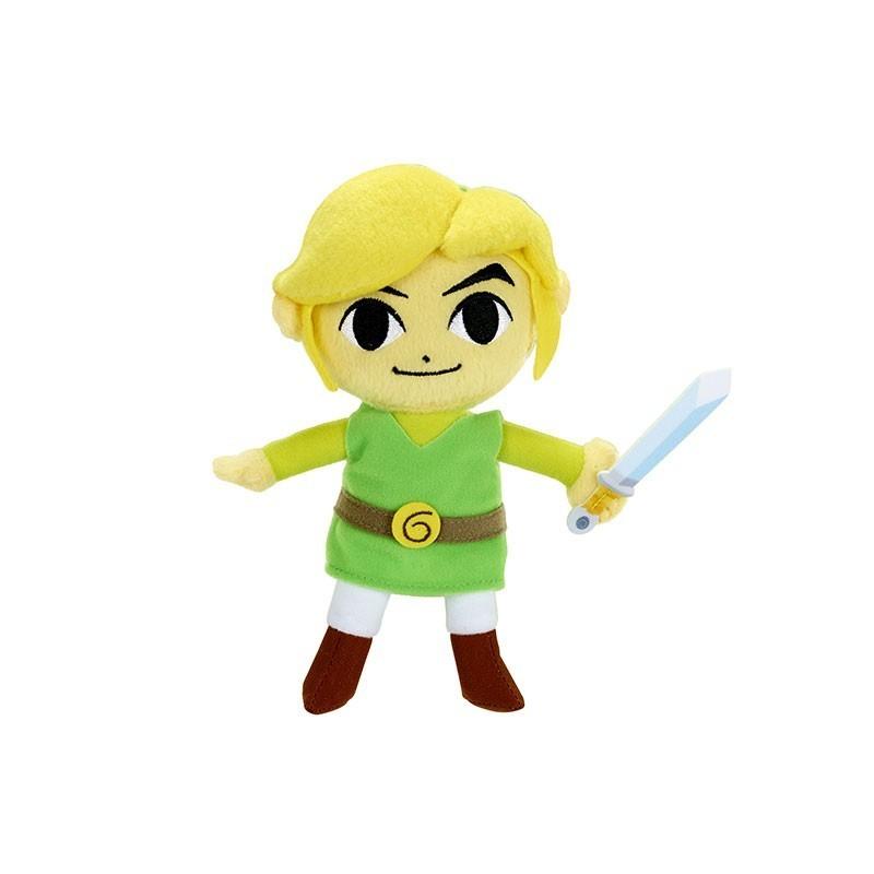 Zelda - Peluche 18cm Link