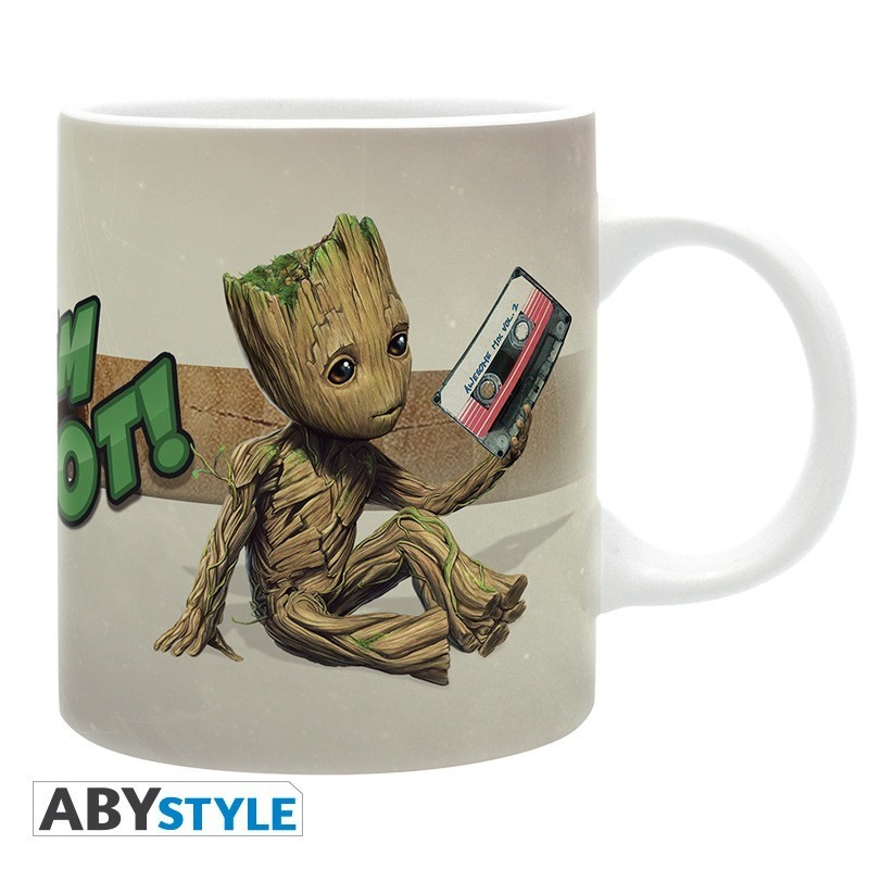 """Marvel - Mug - 320 ml - """"Groot"""" -..."""