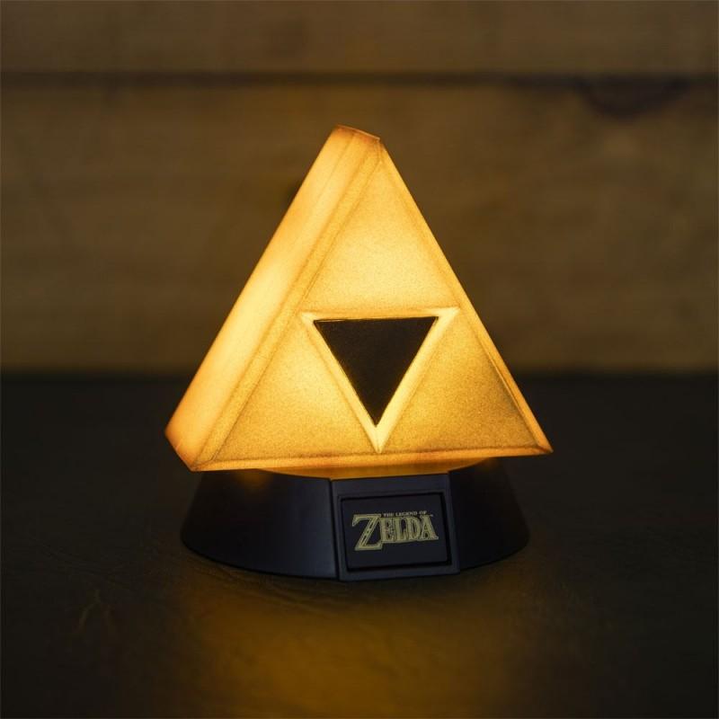 Zelda - Lampe 3D Gold Triforce 10cm