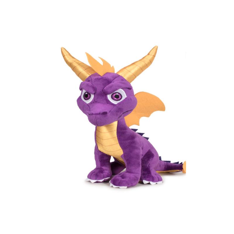 Peluche Spyro assis 25cm