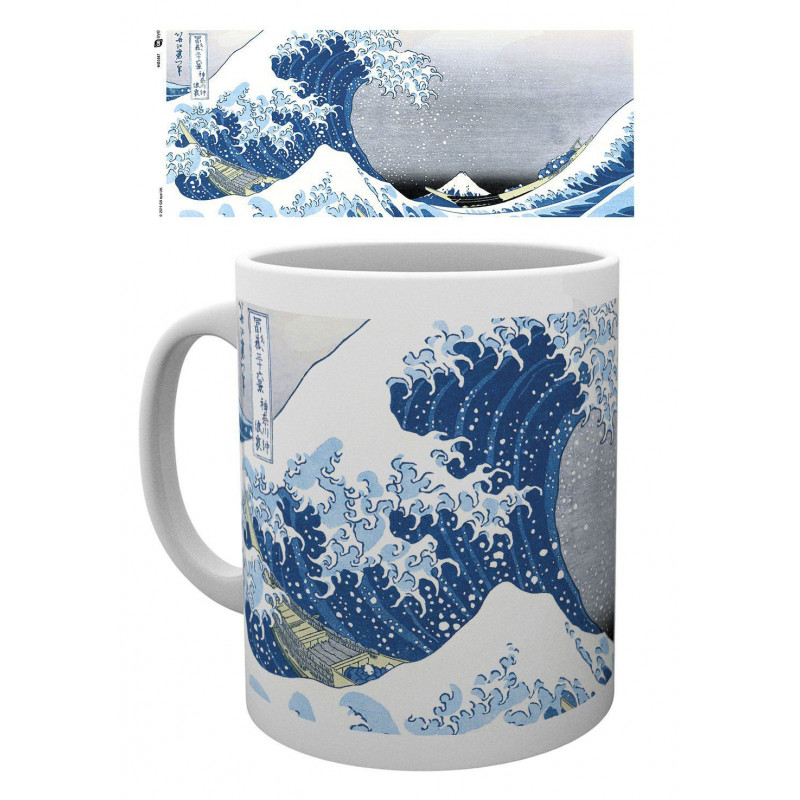 Japanese Art mug Great Wave by...