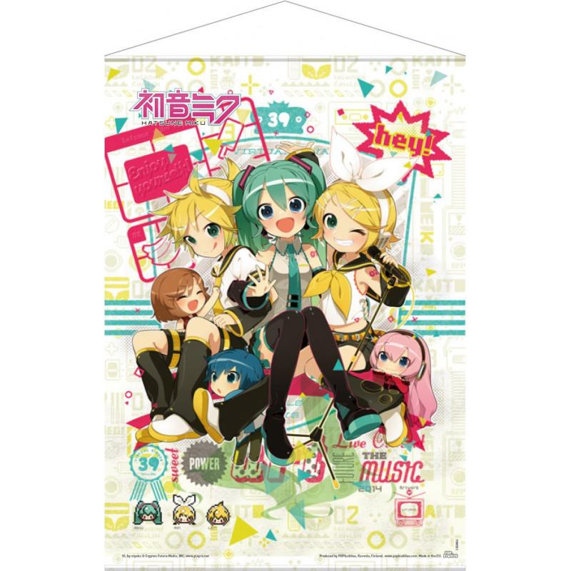 Vocaloid wallscroll Hey! Piapro...
