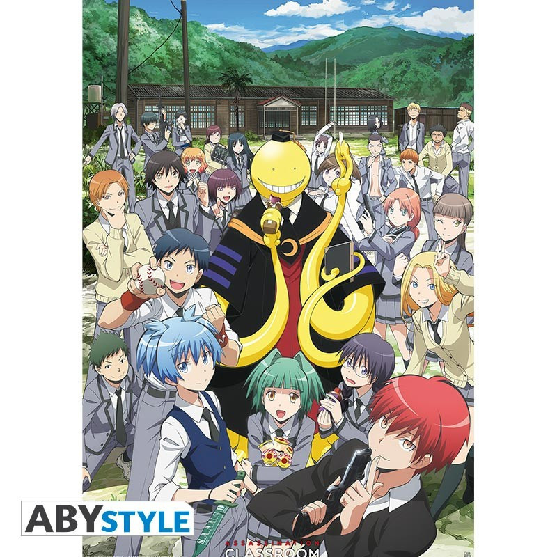 Assassination Classroom Poster Groupe...