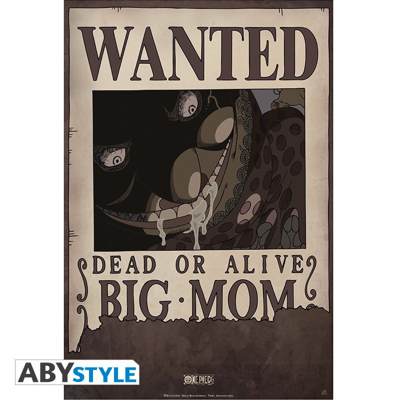 One Piece Poster Wanted Big Mom (52x35)