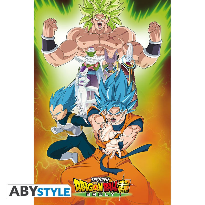 Dragon Ball Broly Poster Groupe...
