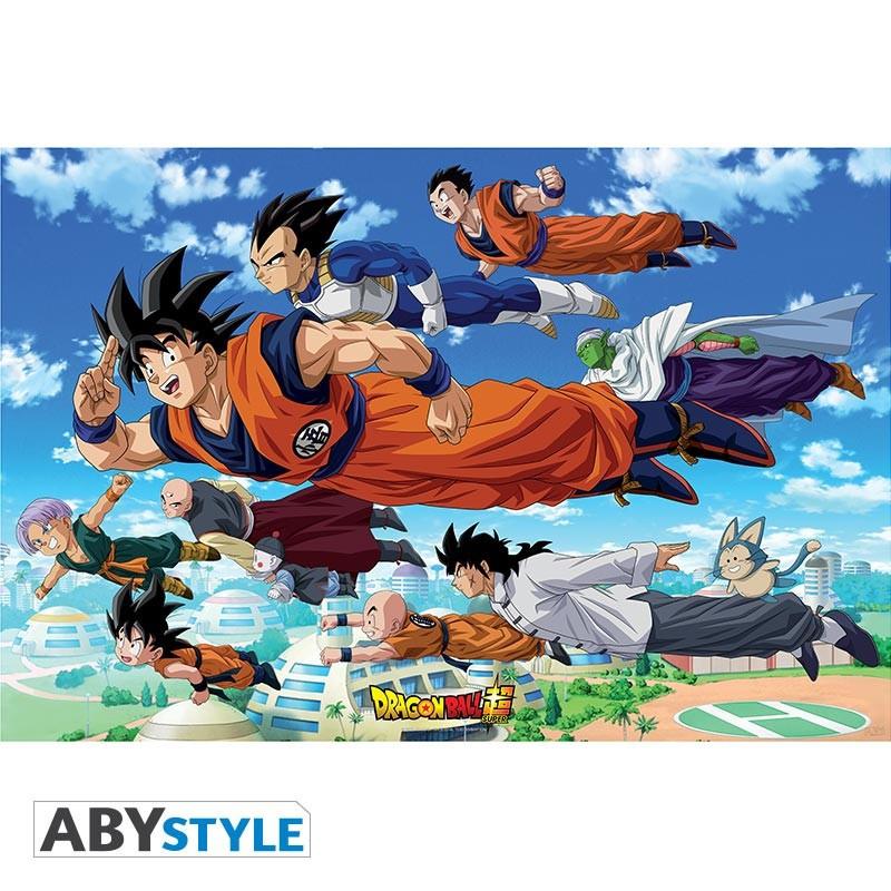 Dragon Ball Poster - Groupe Goku...