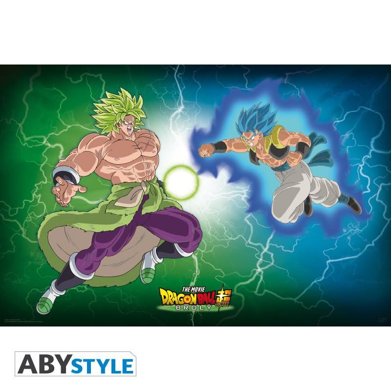 Dragon Ball Poster Broly VS Gogeta...