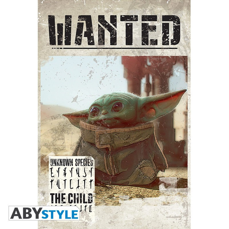 The Mandalorian Poster Bébé Yoda...