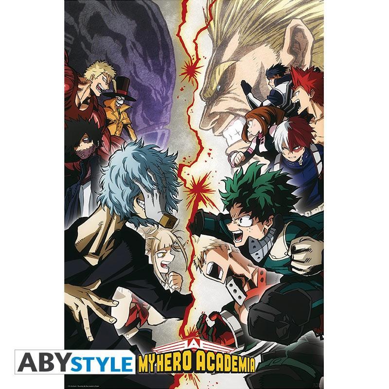 My Hero Academia Poster Héros VS....