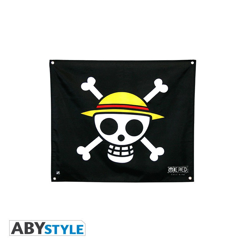 One Piece - Drapeau Skull - Luffy...