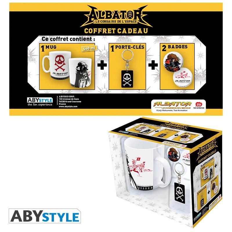 Albator Pack Mug + Porte-clés +...