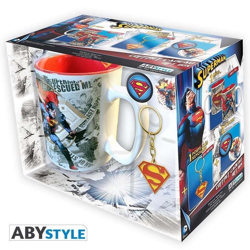 DC Comics Pack Mug + Porte-clés +...