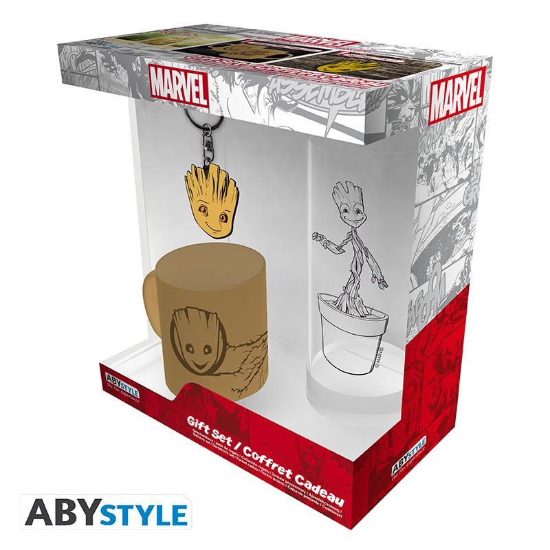 Marvel Pack Verre 29cl + Keyring +...