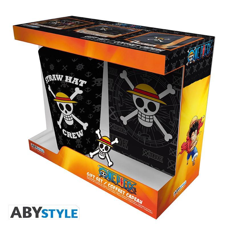 One Piece Verre XXL + Pin's + Carnet...