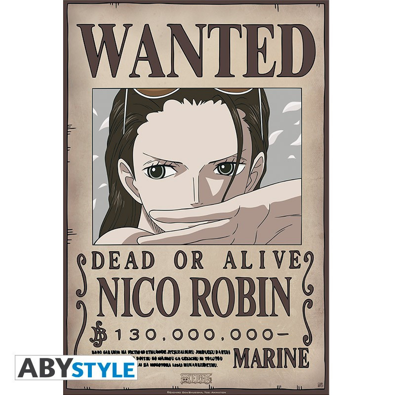 One Piece Poster Wanted Robin New...