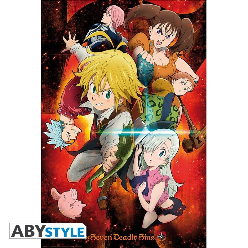 The Seven Deadly Sins Poster...