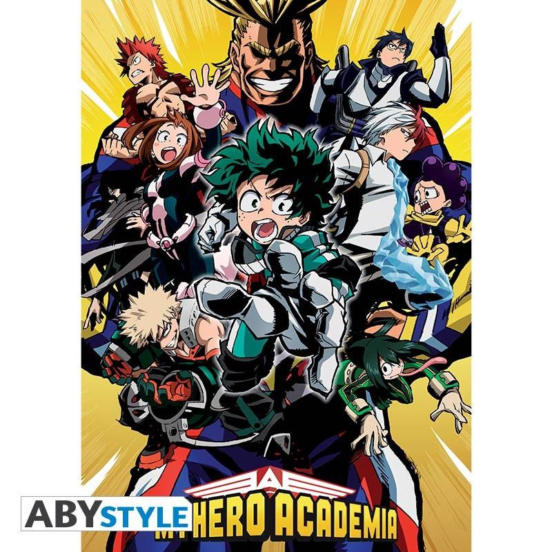 My Hero Academia Poster Groupe (91.5x61)