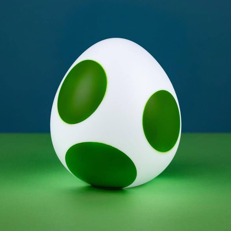 Super Mario veilleuse 3D Yoshi Egg 10 cm