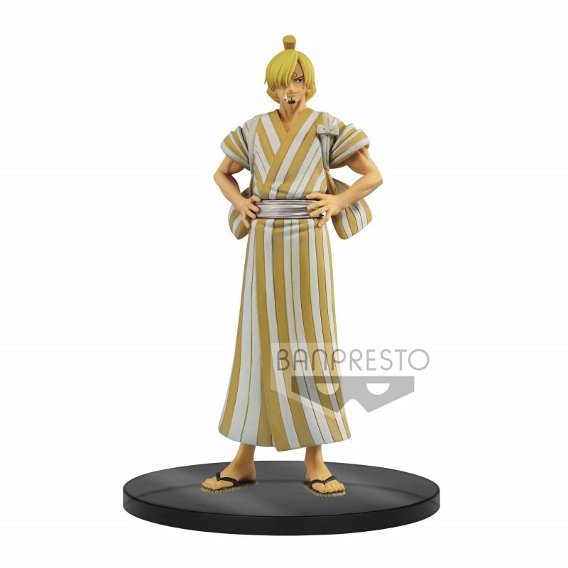 One Piece Sanji (Wanokuni) DXF...
