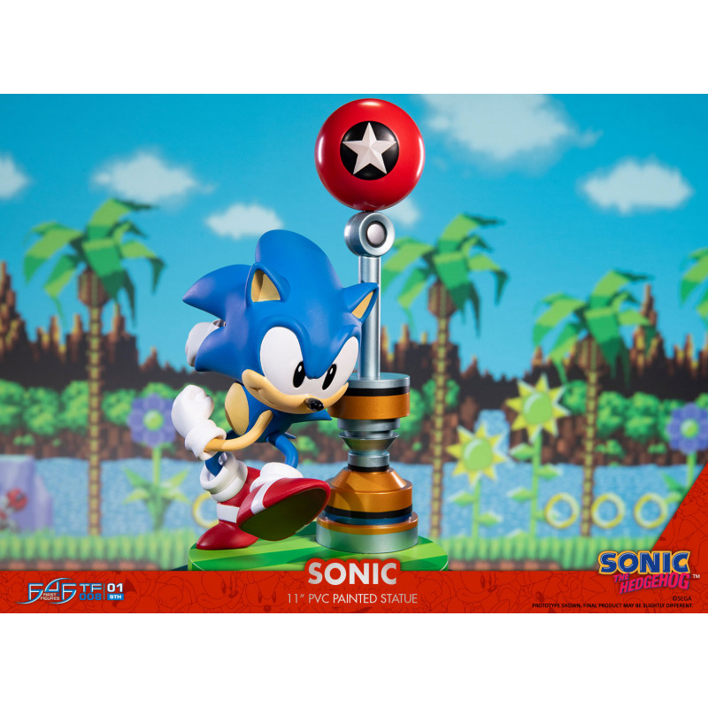 Sonic The Hedgehog First 4 Figures 26 cm