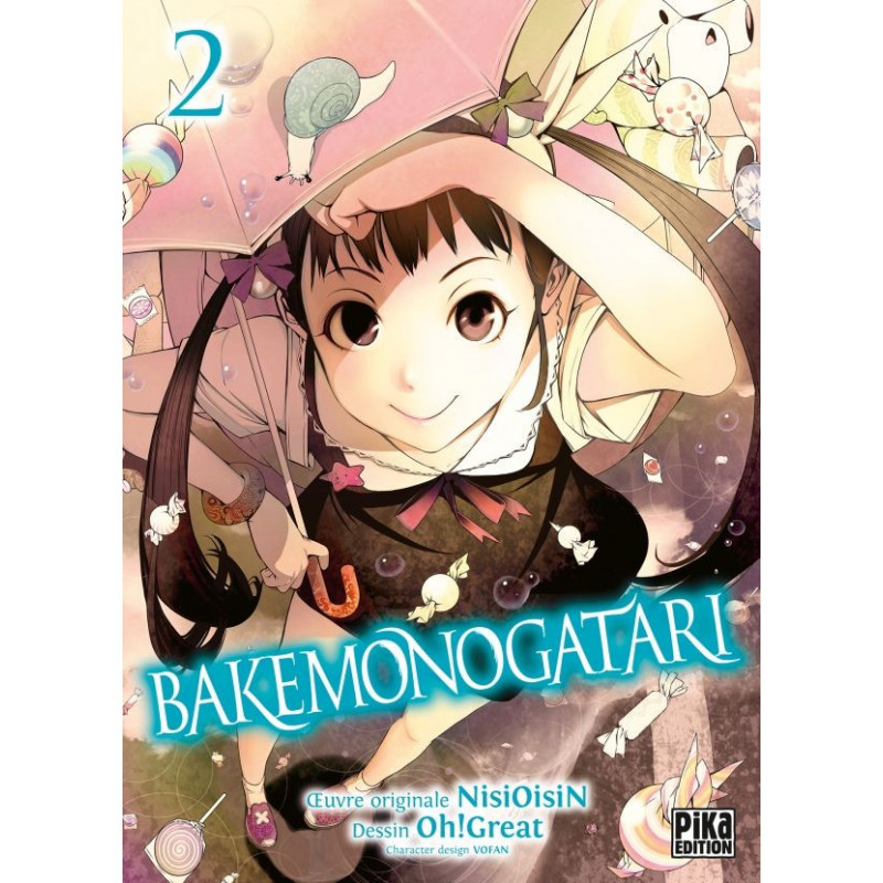 Bakemonogatari Vol.2