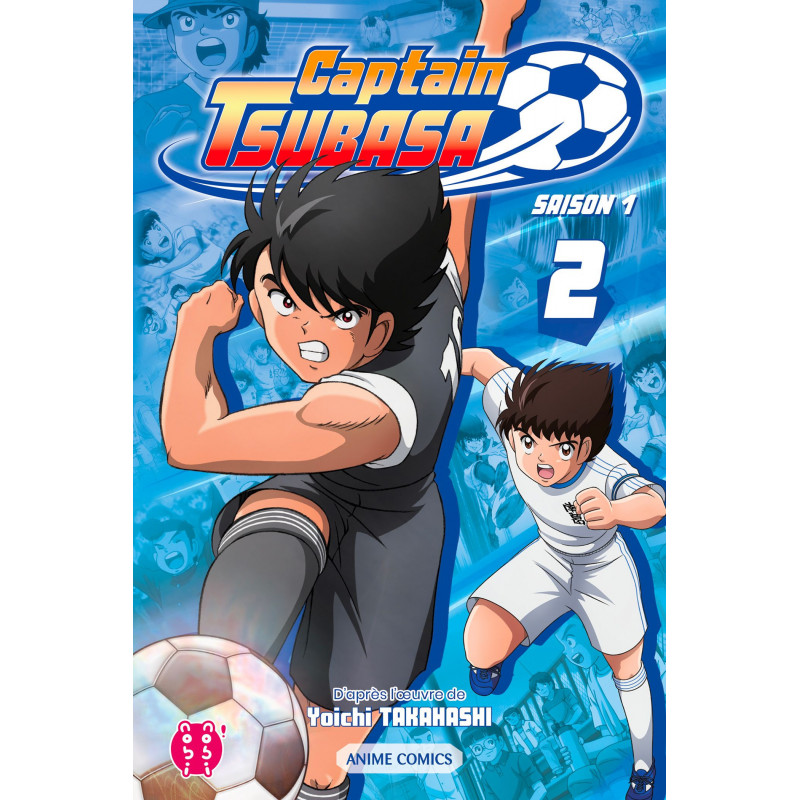 Captain Tsubasa - Anime Comics -...