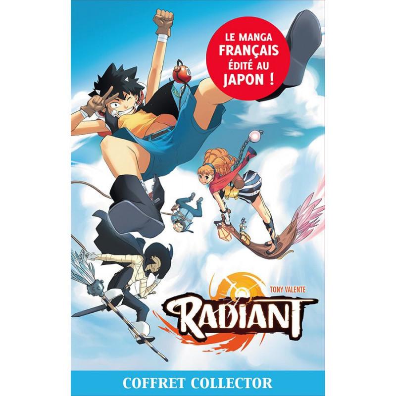 Radiant - Coffret T1 à T4