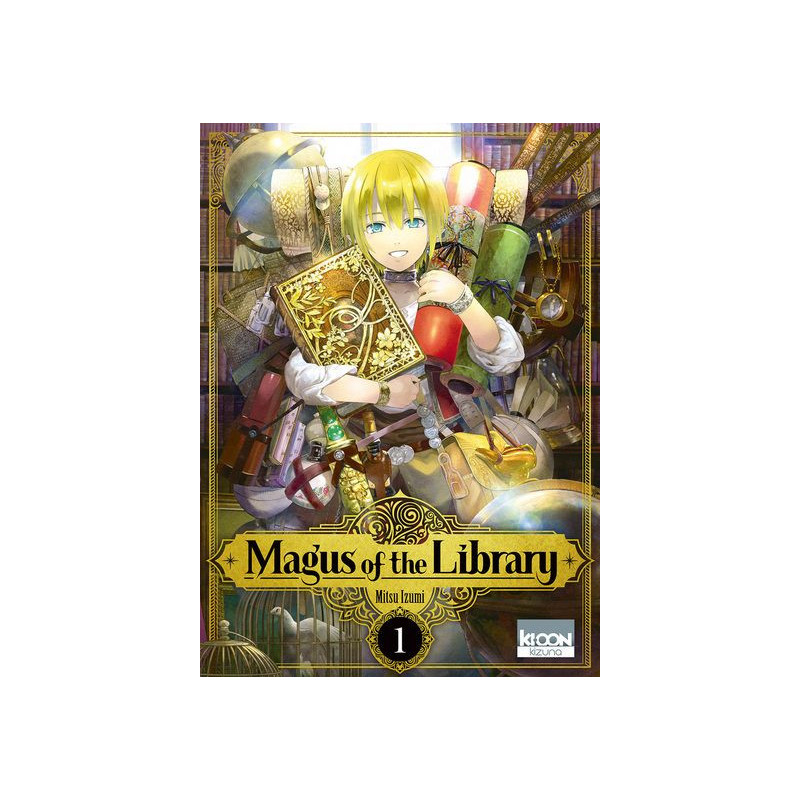 Magus of the Library Vol.1