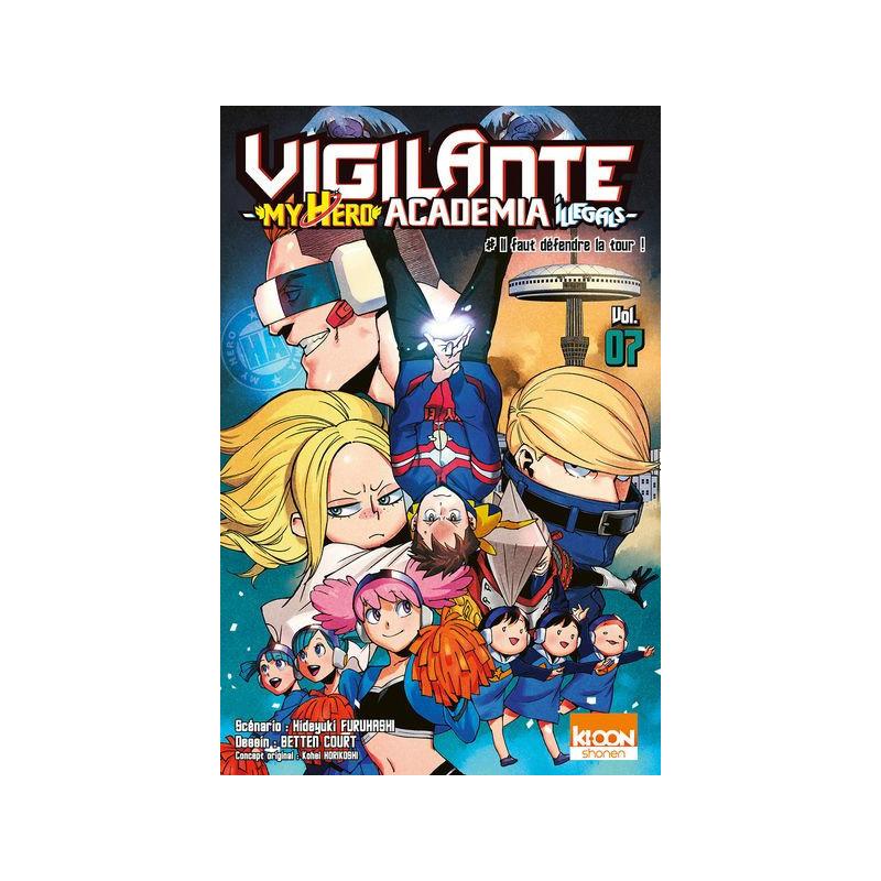 Vigilante - My Hero Academia Illegals...