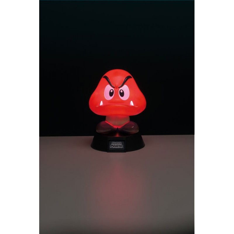 Super Mario veilleuse 3D Goomba 10 cm