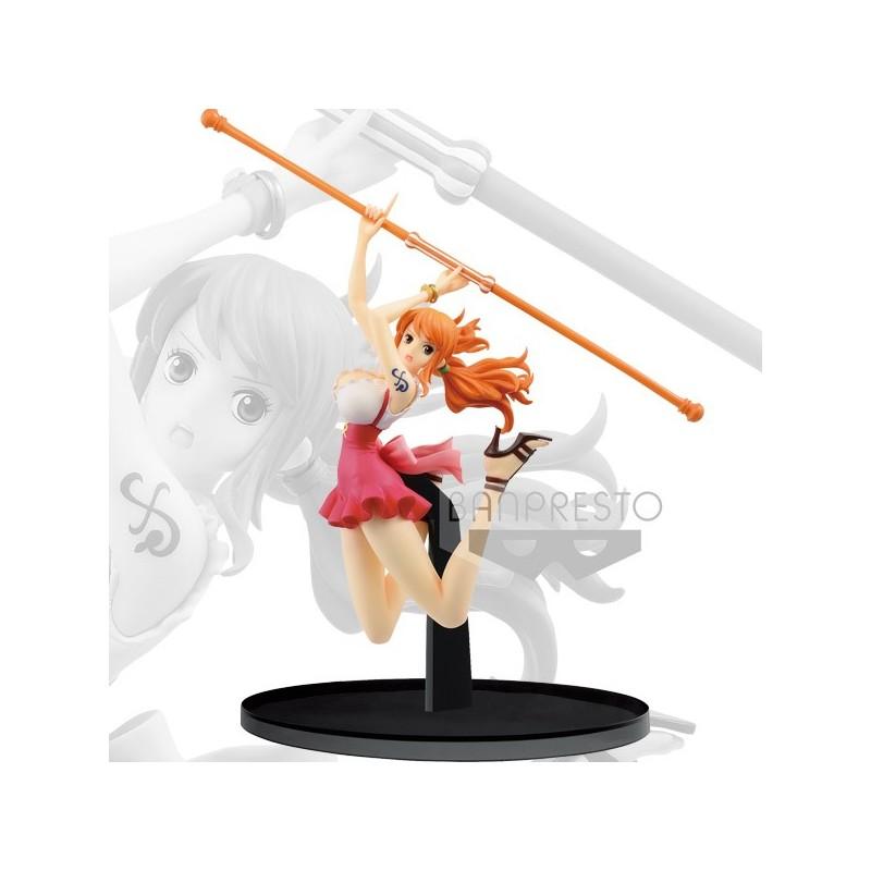 One Piece Nami World Figure Colosseum...