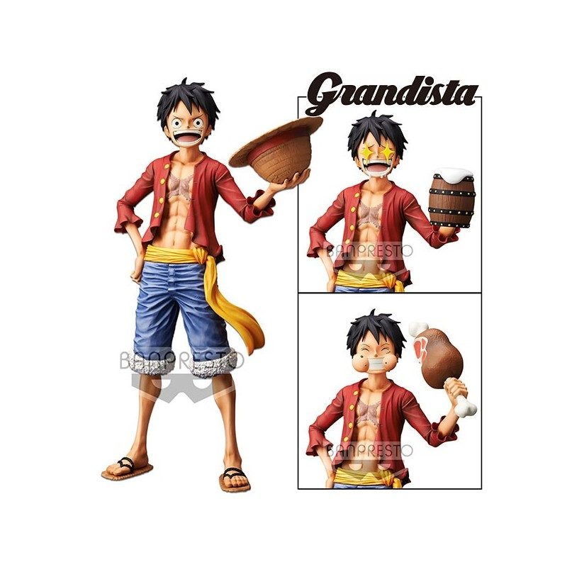 One Piece Grandista Nero Monkey D...