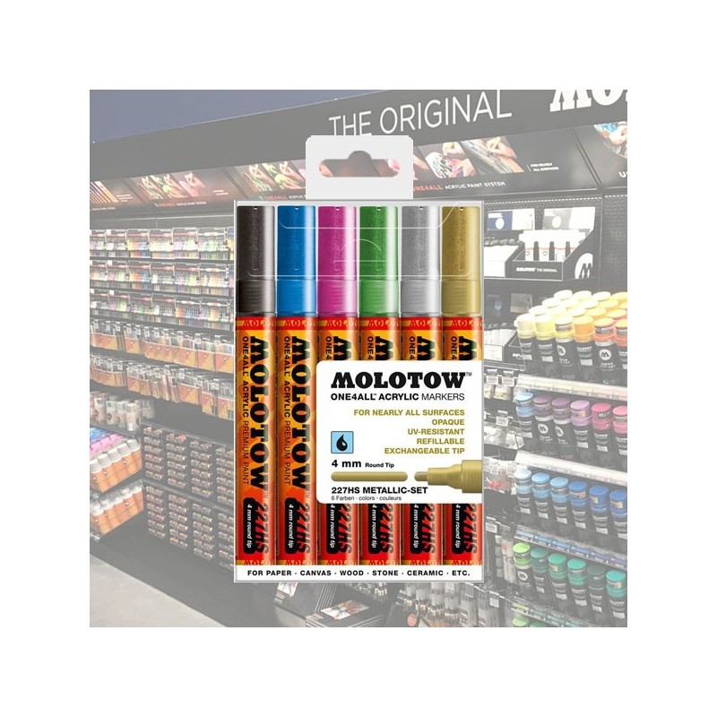 Molotow Acrylic Marker One4All 4mm...